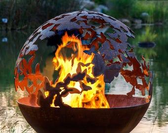 Wings – Butterfly Fire Pit Sphere
