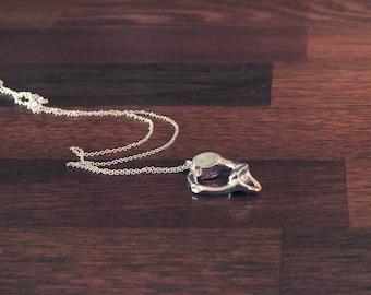 Atlas (C1) Vertebra in Silver - Anatomical Jewelry