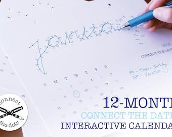 2018 Connect the Dates Calendar