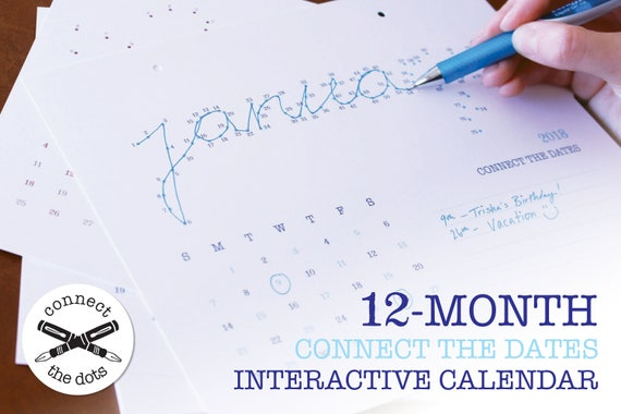 2018 Connect the Dots Calendar