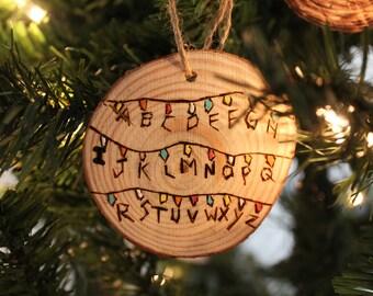 Stranger Things Lights ornament