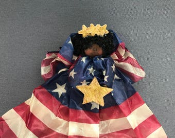 Patriotic Angel - Black
