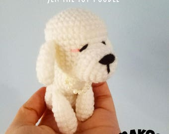 Jen The Toy Poodle : Amigurumi Pattern in PDF format
