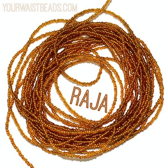Waist Beads Custom fit ~Raja ~ YourWaistBeads.com