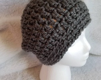 Just a Simple Crochet Beanie