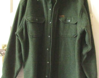Men's Woolrich Wool Shirt Jacket, L