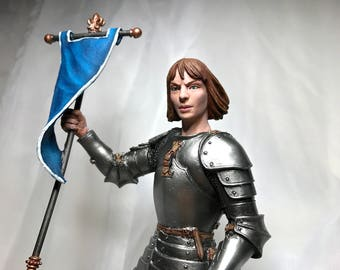 Joan of Arc Statue, Full Color