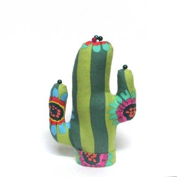Short Kaffe Fassett Fabric Saguaro CACTUS-Stand ~ Ready to Ship