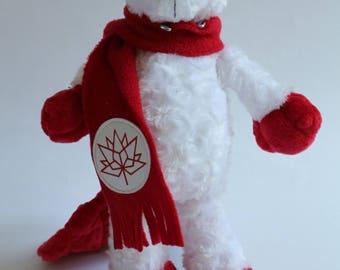 "Canada 150 Beaver Stuffed Animal - ""King"""