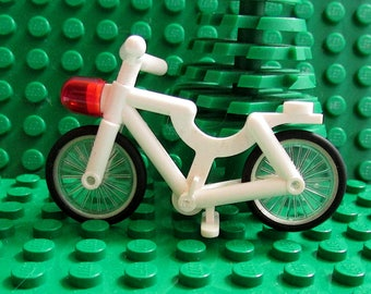 Vintage 1980's Lego Bicycle, with red headlight