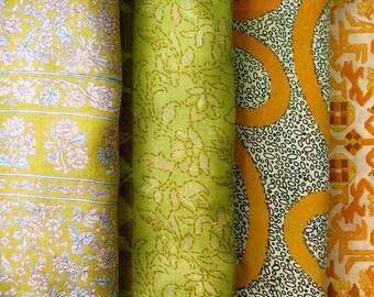 Fat Quarters, Silk Fabric, Sari Silk, FQ 178