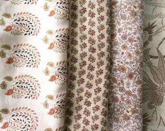 Fat Quarters, Silk Fabric, Sari Silk, FQ 190