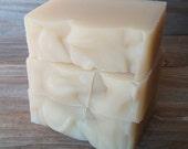 Argan + Coconut Milk Shampoo Bar | Handcrafted All Natural Coconut Milk Shampoo | Cold Process Hair Soap | Unscented Solid Shampoo Bar