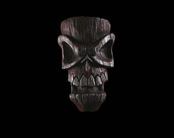 Skull Tiki War Head