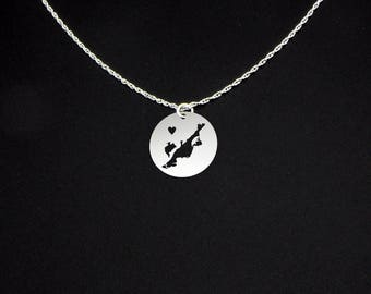 Chincoteague Island Necklace - Chincoteague Island Jewelry - Chincoteague Island Gift