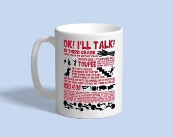 Goonies mug, custom mug, coffee mug, tea mug