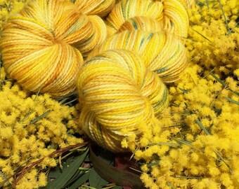 150g Skein Wattletree hand dyed Australian 4ply sock yarn