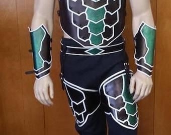 Leather Armor Green Lantern Set 2