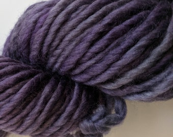 Purple on Super Bulky SW Merino