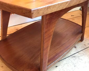 Midcentury 2-tierd Coffee Table. Teak.