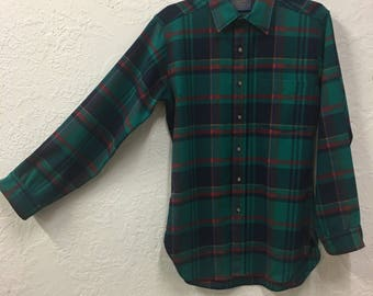 Pendleton Wool Button Up Flannel