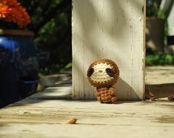 Crochet Sloth-Vulnerable-LeastConcern-CriticallyEndangered