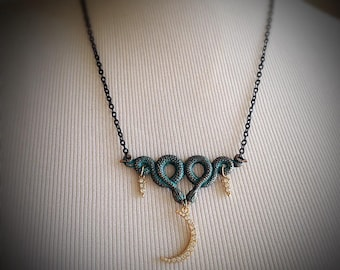 A Necklace for Diana Goddess of the Hunt