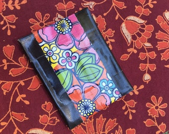 Flower Duct Tape Wallet