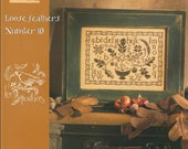 KIT - Autumn Silhouette by Blackbird Designs - Loose Feathers Club #10 - OOP Kitted Cross Stitch Pattern