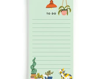 Plant Lady To Do | Long Notepad