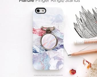 iPhone Ring Stand Marble Ring Stand Samsung S8 Ring Holder iPhone Ring Case Personalized Ring Grip iPhone Ring Case Monogram Finger Ring 11.