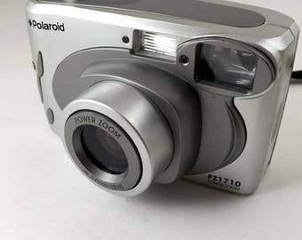 Polaroid PZ1710 Power Zoom, point and shoot camera *film tested, working