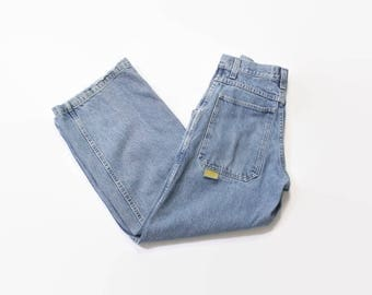 Vintage 90s JNCO Jeans / 1990s Baggy Smoke Stacks 179 Easy Wide Jeans