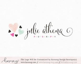 Heart Logo Photography Logo Boutique Logo Premade Logo Watermark Logo Business Logo Branding Logo Custom Logo Logos and Watermarks