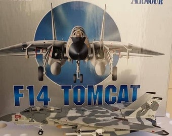 Armour Collection Franklin Mint F14 Tomcat US Navy Be-Devilers Model 98077