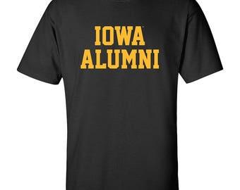Iowa Hawkeyes Block Alumni T-Shirt
