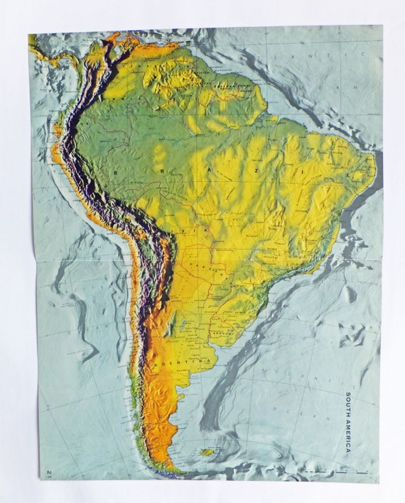 South America Map Very Large Map Of South America Brazil - Brazil south america map