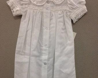 Savannah Christening Dress, Blessing Dress, Baptism Dress for Baby Girl's