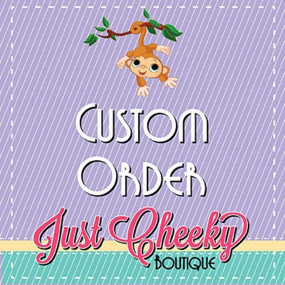 Custom Order for Debbie M - Hooded Towel