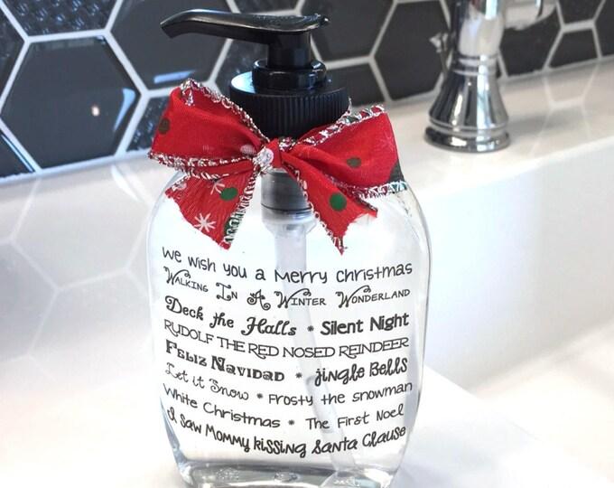 Christmas Soap Dispenser