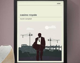 James Bond - Casino Royale Movie Poster - Movie Poster, Movie Print, Film Poster, Film Poster