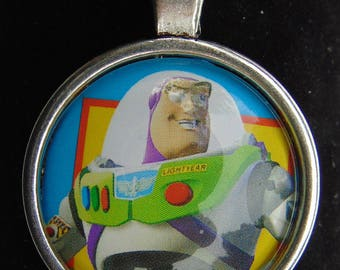 Buzz Lightyear Upcycled Necklace