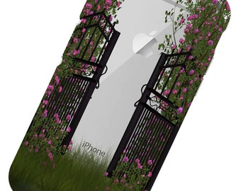 Garden Gate, Floral,  Phone Case, iphone 6 Case, iphone 7 Case, iphone 6 plus Case, iphone 7 plus, iphone X Phone Case, iphone 8, 8 plus