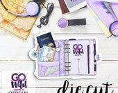 GO Wild Planner Calendar Cardstock Die Cuts   Single Die Cut Cardstock Die Cut for Planners, Journals, Scrapbooking, TNs