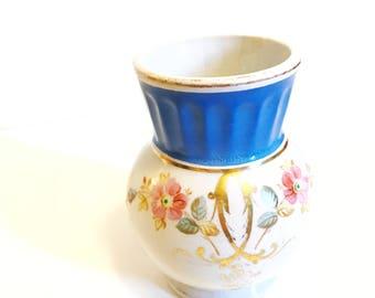 Knowles Taylor  Knowles Ironstone China Vase Small Antique