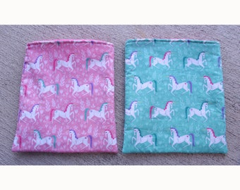 Unicorn Snuggle Pouch - Sleep Sack - Snuggle Sack - Cuddle Sack - Small Animals