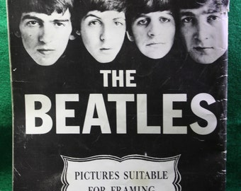 Vintage scarce -The Beatles Pictures for Framing by Norman Parkinson 10510 1964 -ephemera - Free Shipping in the Domestic USA