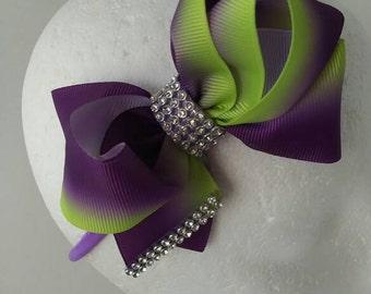 bow headband ,handmade headband,infinite bow headband.