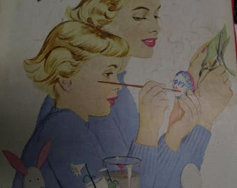 April 1949 Ladies Home Journal, Fashion Ads