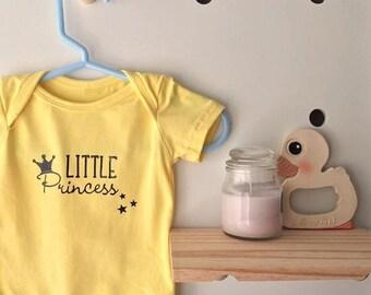 Little Princess Baby Onesies